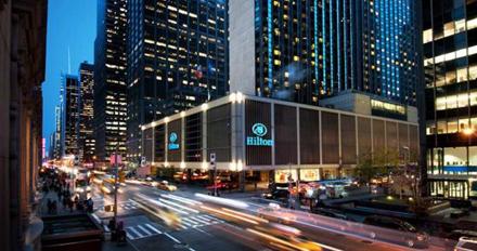 SITE Hilton Hotel NY