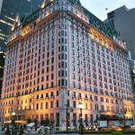 The Plaza Hotel em New York.