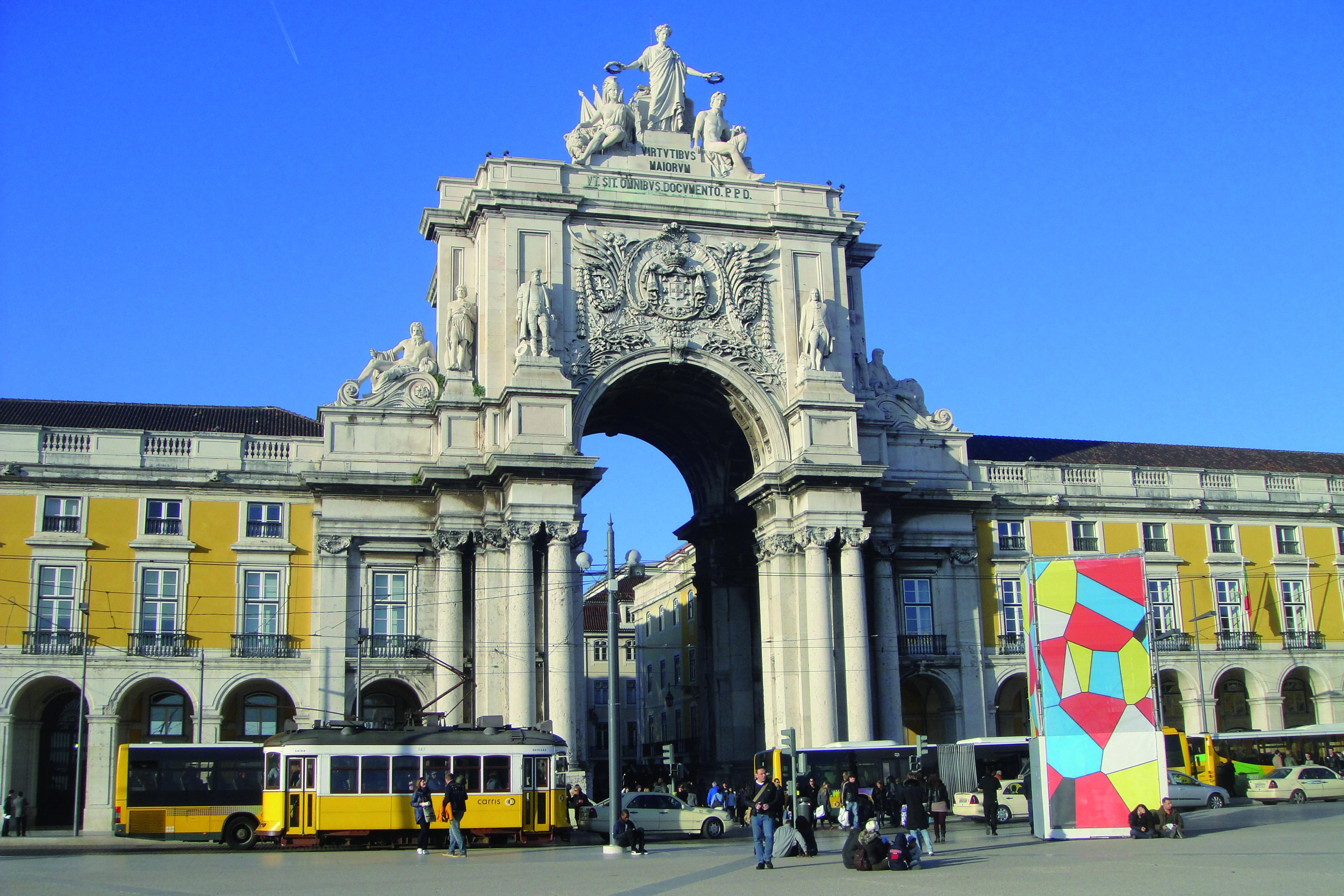 Passeando por Lisboa