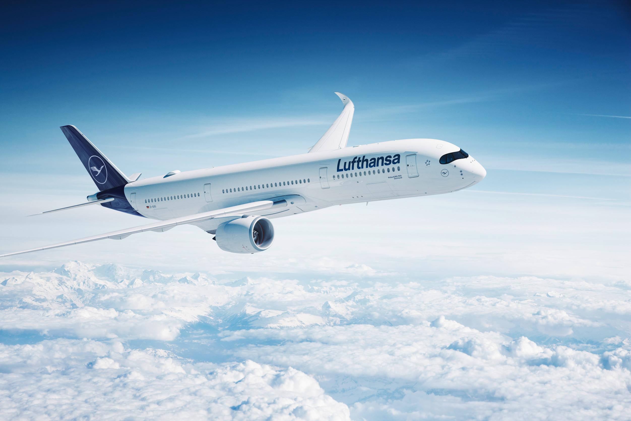Lufthansa relança rota São Paulo - Munique com moderníssimo Airbus A350-900