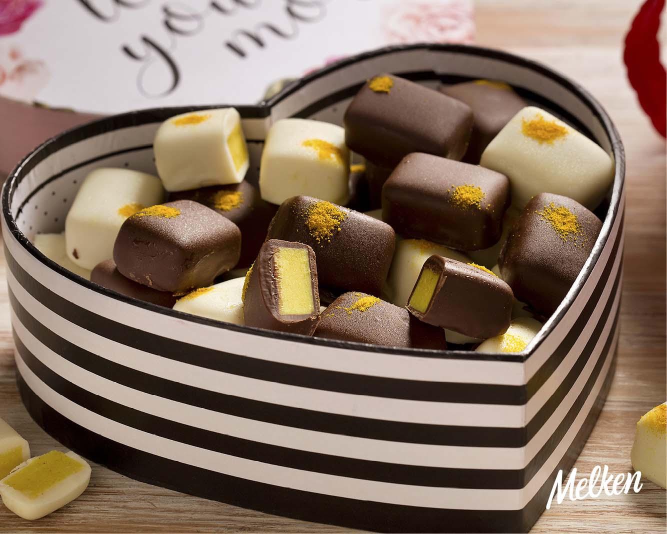 Prepare uma trufa com especiarias para a data mais romântica do ano