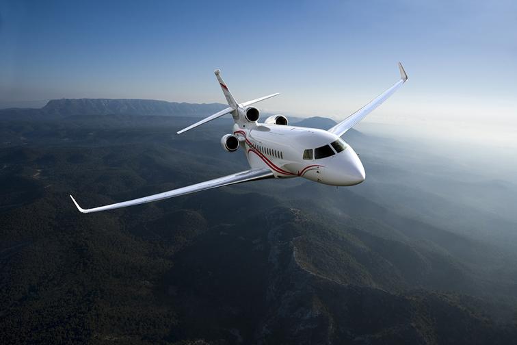 Pelo segundo ano consecutivo, Dassault Falcon lidera a Indústria de Jatos Executivos