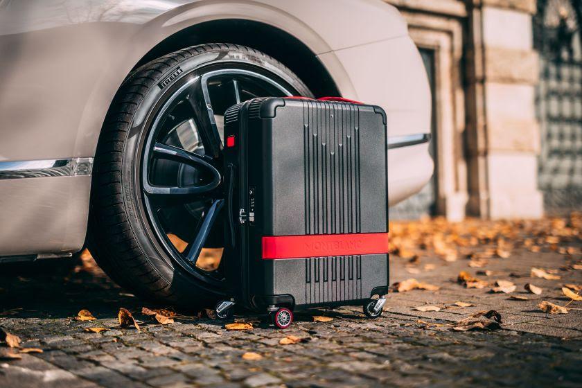 Montblanc x Pirelli: edição limitada de malas de bordo chega ao Brasil